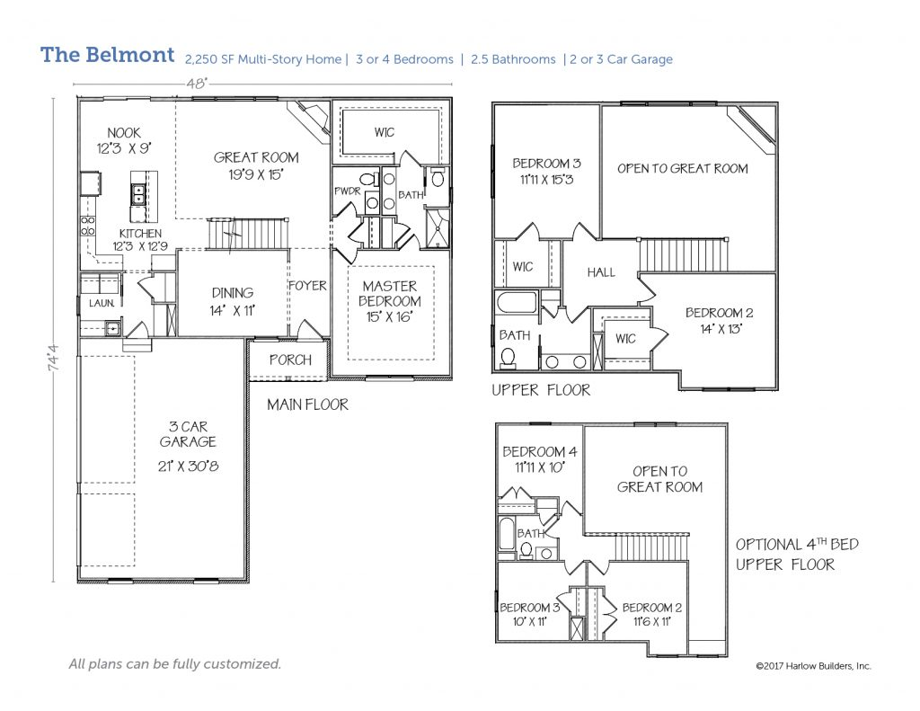 Belmont floorplan