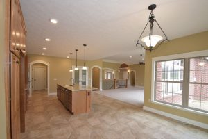 Kitchen and Breakfast nook of Glendale model