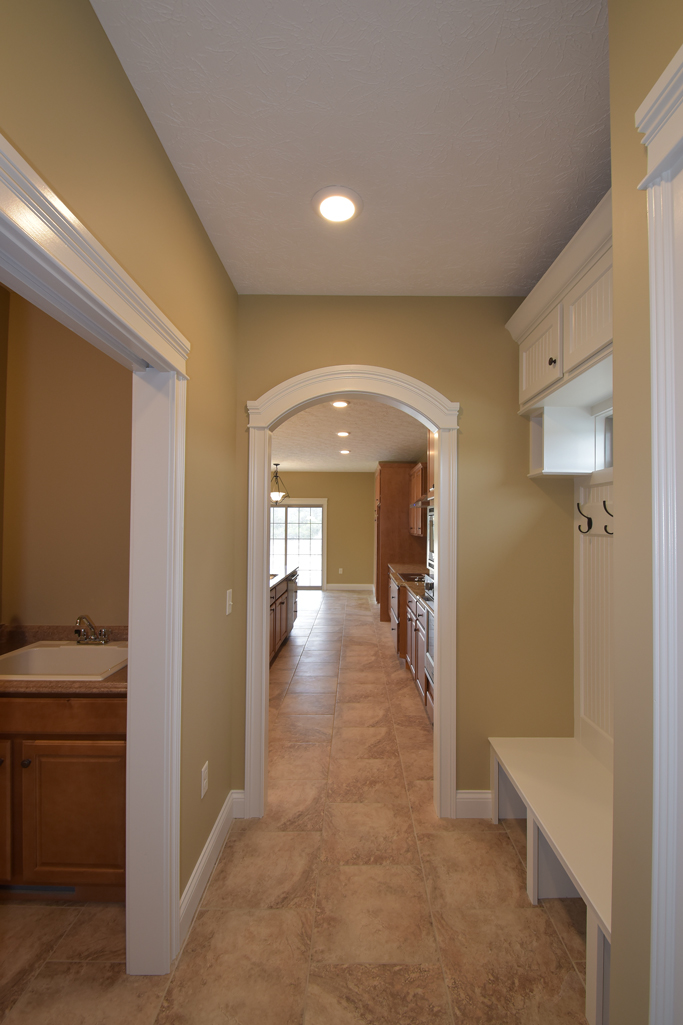 Mud room of Glendale model
