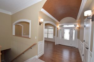 Entry of Glendale & formal dining room