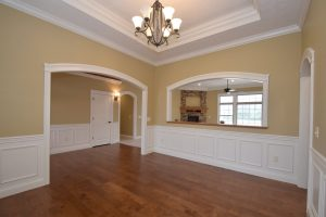 Formal dining room of Glendale model