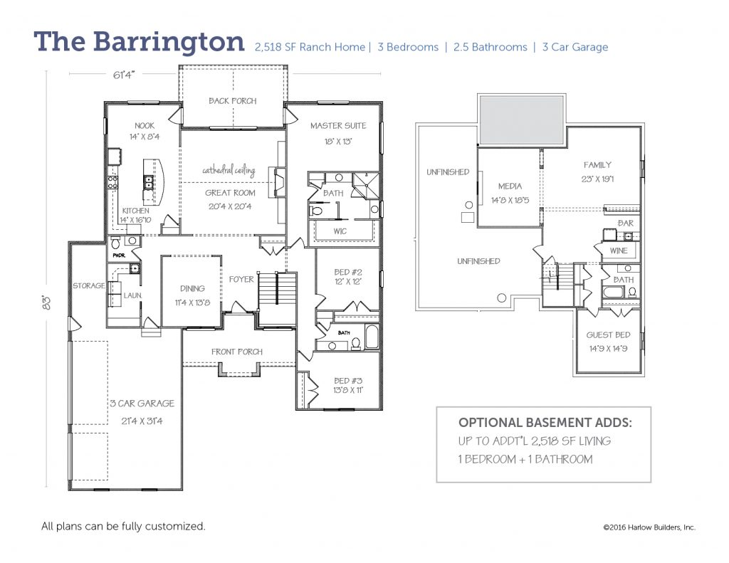 Barrington floorplan