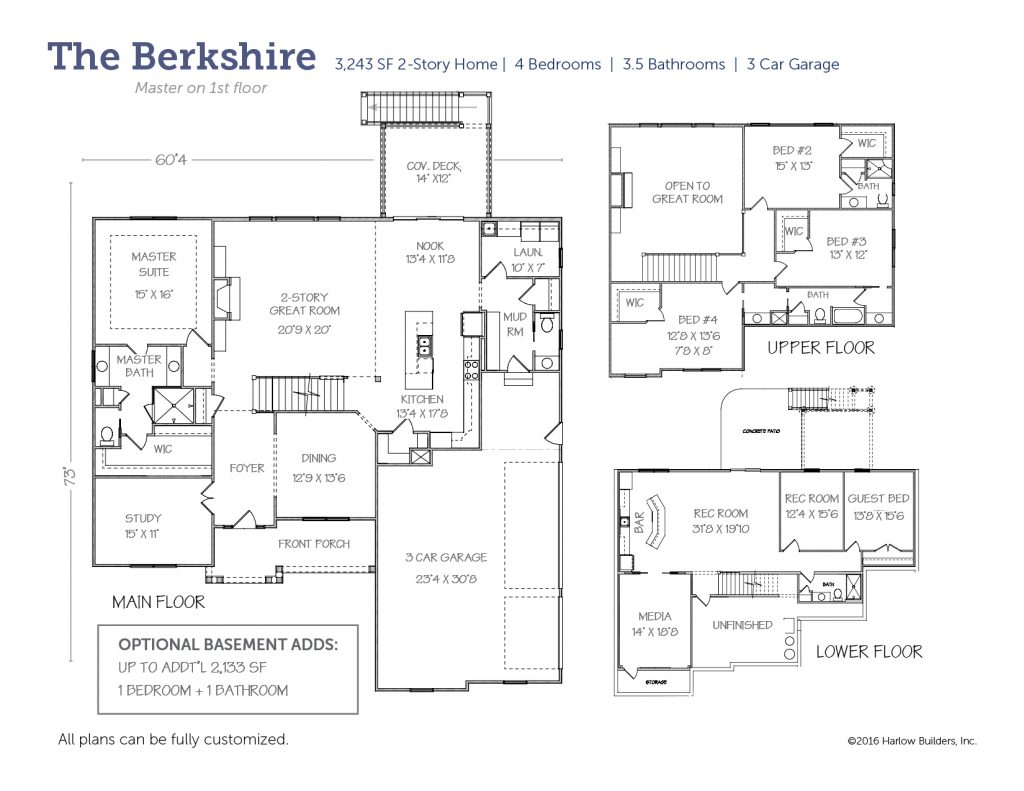 Berkshire floorplan
