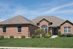 Custom built ranch all brick built in Stonebridge (Troy)