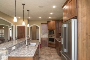 Kitchen in Barrington model