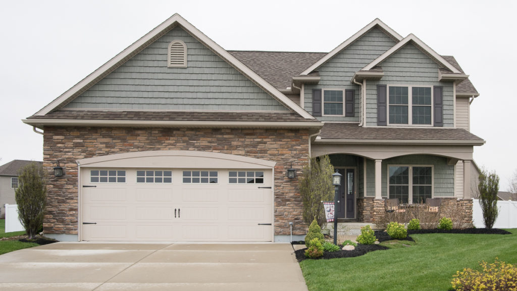 Custom built 2 story with shakes and stone built in Edgewater (Troy)