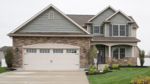 Custom built 2 story home with shakes and stone built in Edgewater