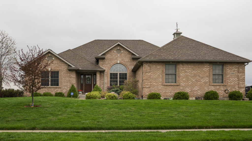 Custom ranch with all brick exterior built in Rosewood Creek (Troy)