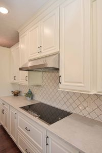 Glendale cabinets and backsplash